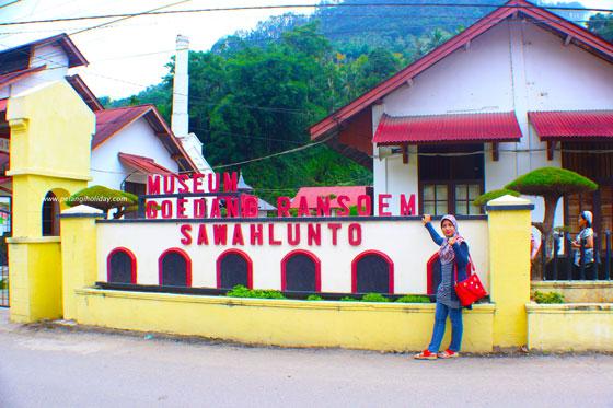 Museum Gudang Rangsum di Kota  wisata Sejarah Sawahlunto