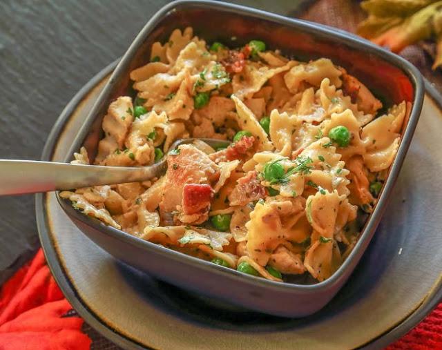 Sensational Chicken Carbonara #bestmeal #pasta