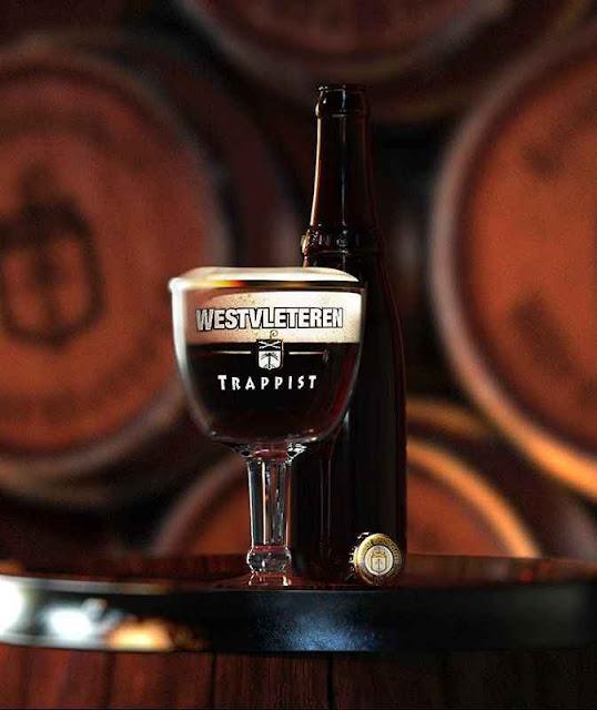 Westvleteren XII a melhor cerveja do mundo é feita por monges trapistas que levam vida de penitência.