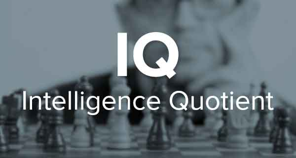 Kecerdasan Intelligence Quotient (IQ)