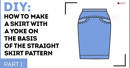 How to make a skirt with a yoke