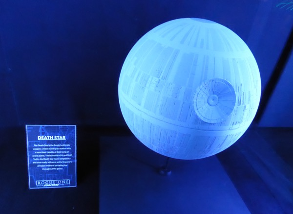 Rogue One Death Star model