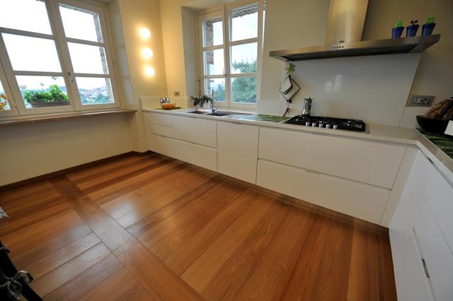 L 39 architetto risponde parquet guida alla scelta - Come abbinare cucina e pavimento ...
