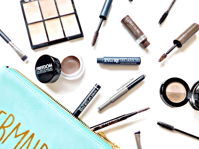 eyebrow makeup products