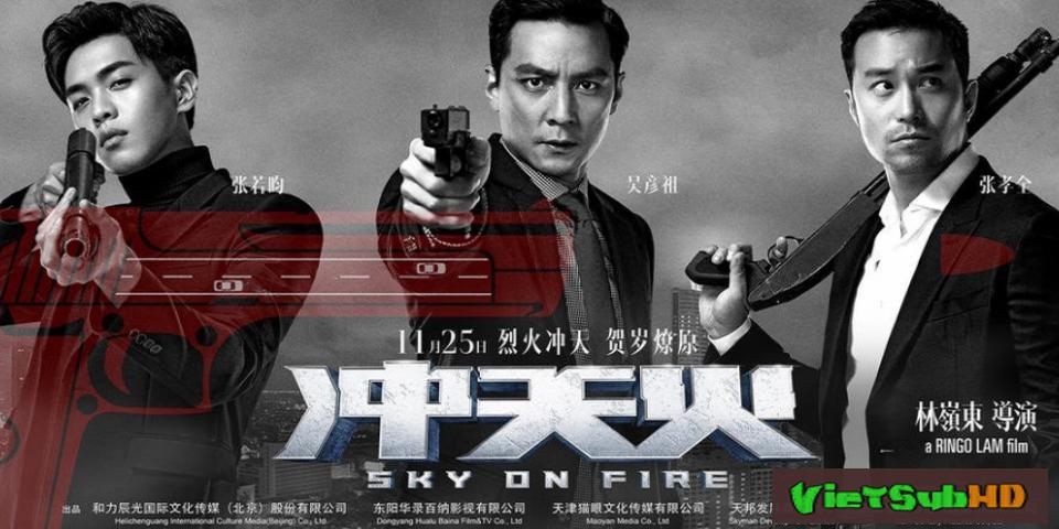 Phim Bầu Trời Máu Lửa VietSub HD   Sky on Fire 2016