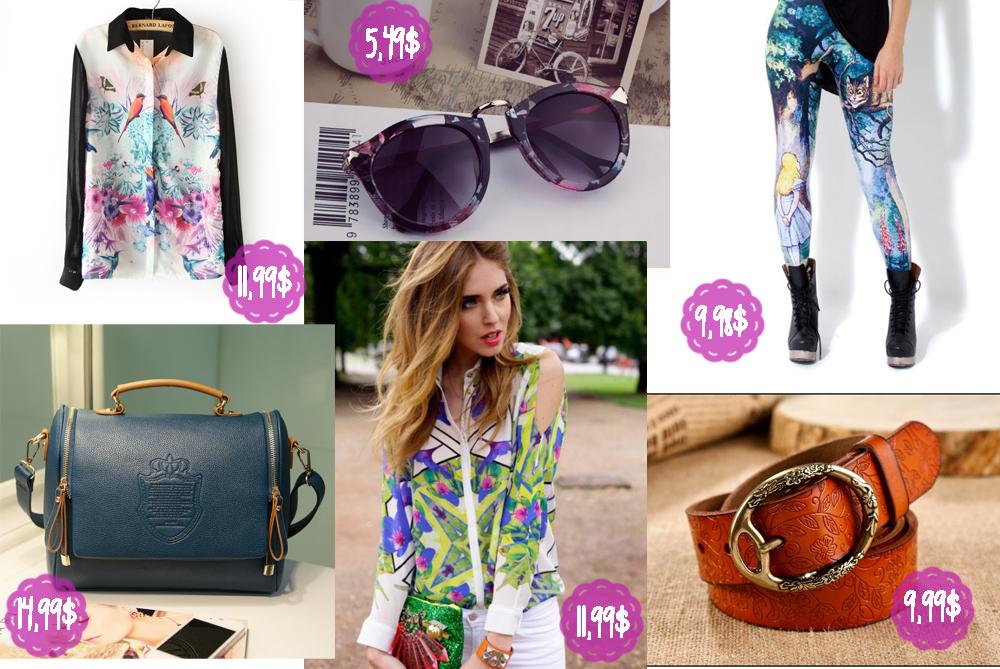Dodatki - mam tu na myśli torebki, paski, apaszki, okulary  przeciwsłoneczne, kosmetyczki i inne tego typu rzeczy. Cenowo bardzo się  opłaca, są też względnie ... f8c356f67fc