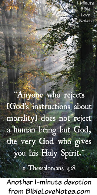 To reject God's commands is to reject God
