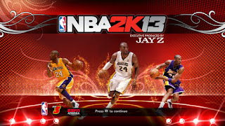 NBA 2K13 Kobe Bryant Startup Screen Patch