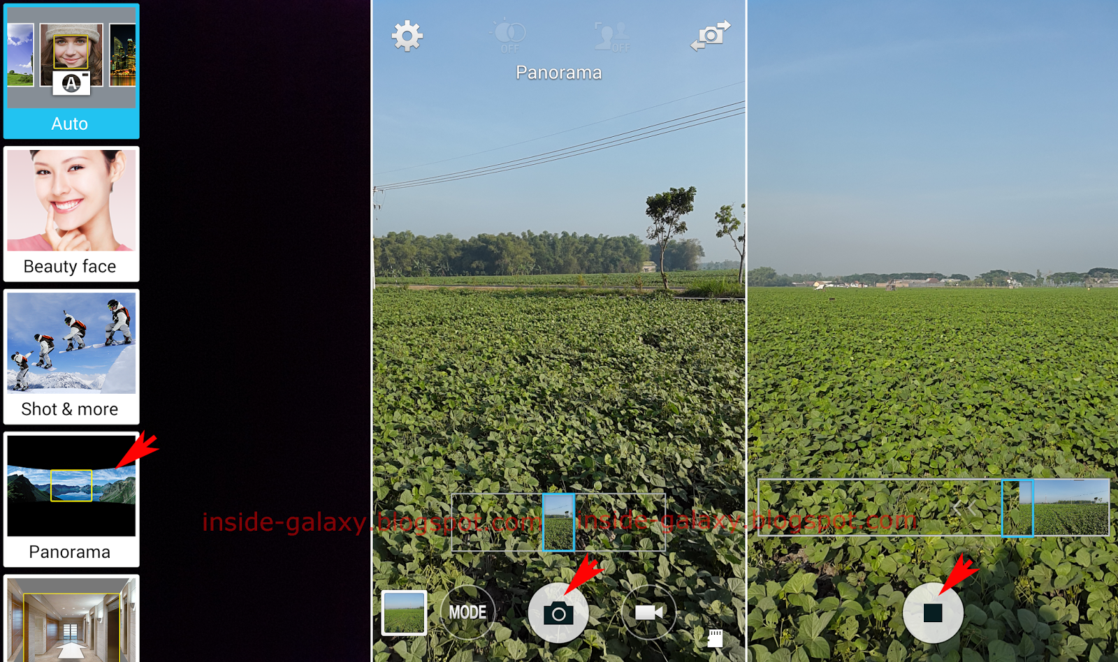 Samsung Galaxy S5: How To Take A Panorama Photo In Android