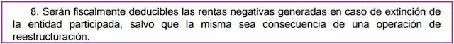 Artículo 21.8 Ley 27/2014 del Impuesto sobre Sociedades