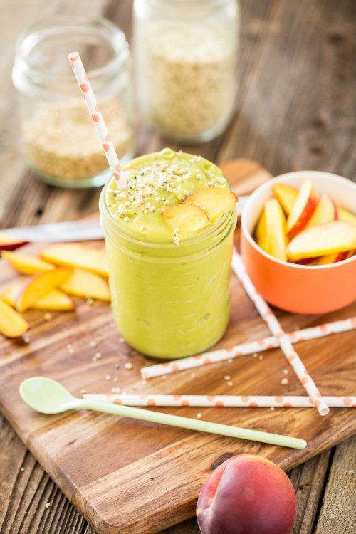Comment préparer mon smoothie de pêche et thé vert pour perdre du poids