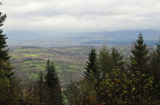 Panorama ze Skiełka.