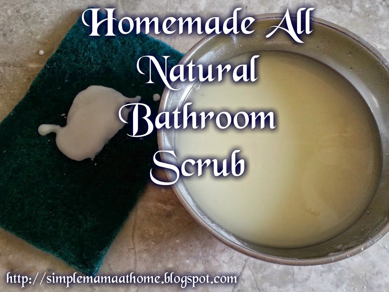 Homemade All Natural Bathroom Scrub