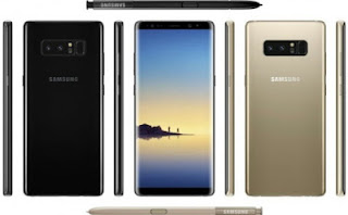 See The Full Specifications And Price Of The Samsung Galaxy Note 8 In Nigeria