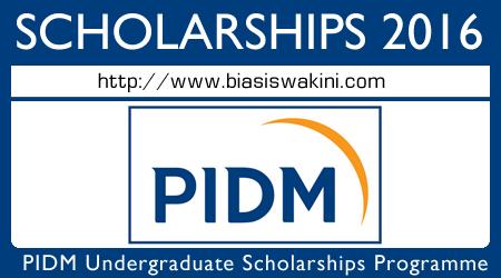 PIDM Undergraduate Scholarship Programme 2016 - Biasiswa PIDM 2016