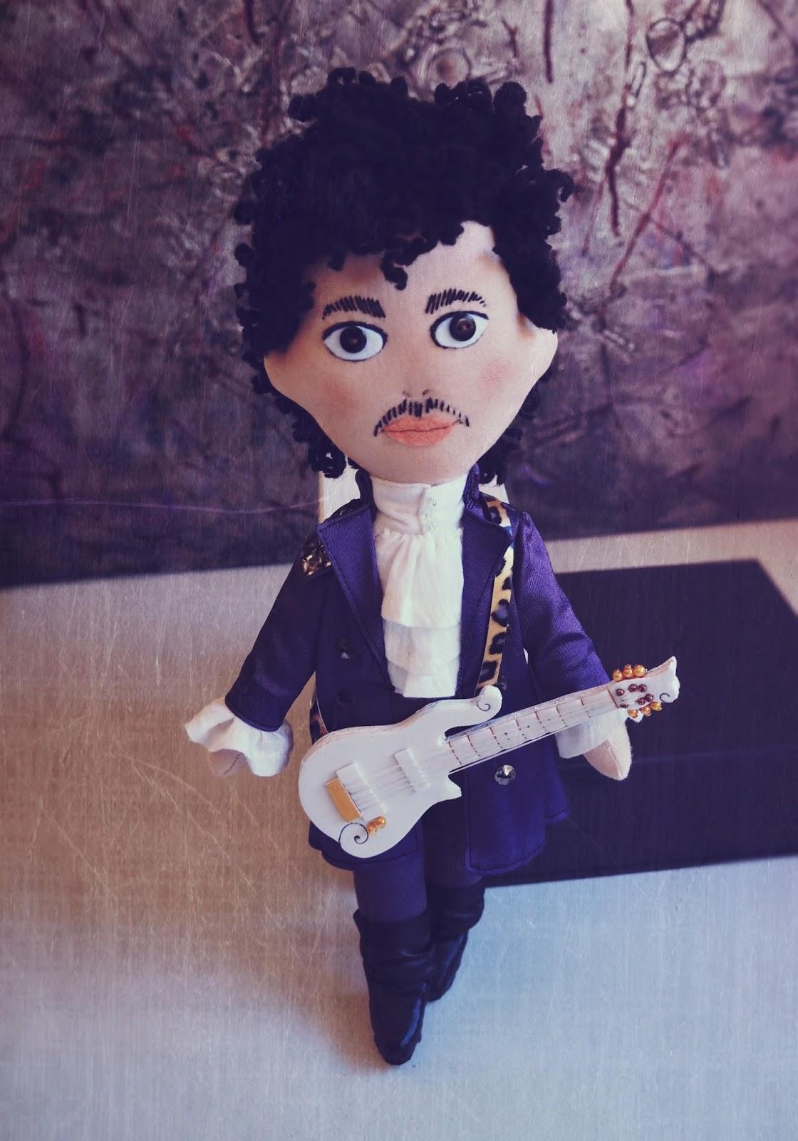 Lelleco Blog: muñeco de Prince