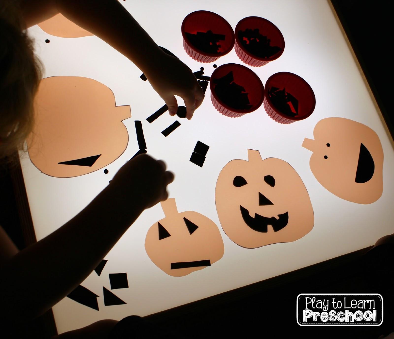 Play To Learn Preschool Easy Jack O Lanterns