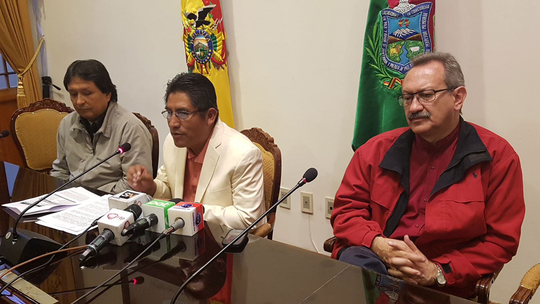 Para la Gobernación de La Paz el Pacto Fiscal no es un tema cerrado