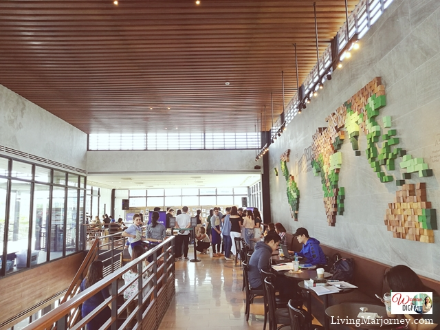 Biggest Starbucks Macapagal Branch