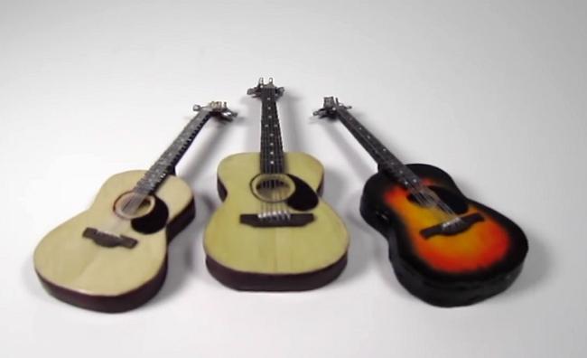 výroba gitary