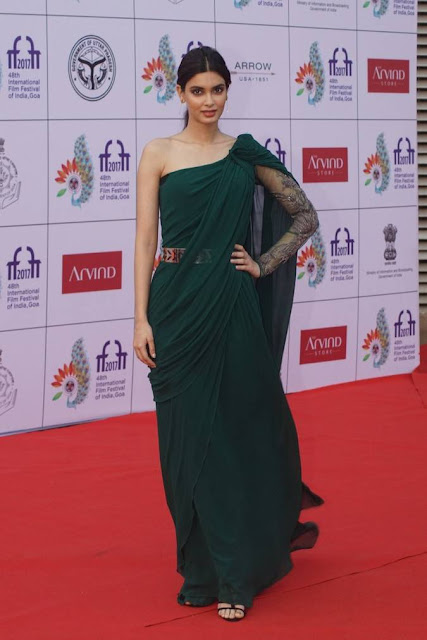 Diana Penty Stills At IIFI 2017 Opening Ceremony