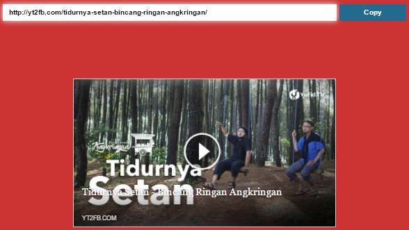Cara Share Video Youtube Ke Facebook Agar Tampil Full Frame Atau Fullscreen