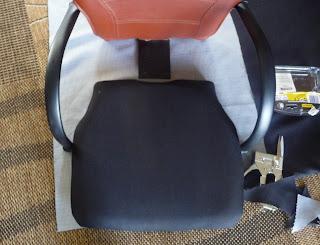 odnawianie fotela na kółkach