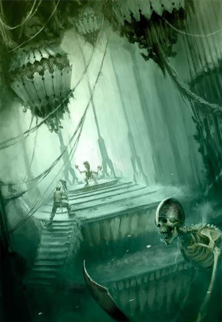 Trasfondo Warhammer Underworlds Nightvault