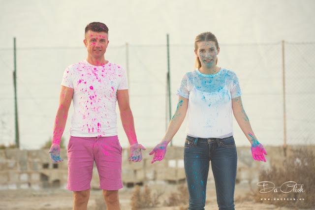 preboda pigmentos de color colores polvos holi