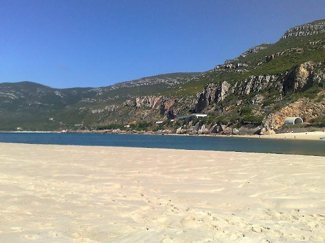 Praia da Figuerinha - areia