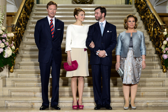 Prince Guillaume and his fiancée Countess Stephanie de Lannoy will marry on Saturday October 20. wedding ceremony