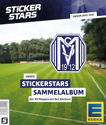 football cartophilic info exchange sticker stars germany sv meppen 1912 2016 17. Black Bedroom Furniture Sets. Home Design Ideas