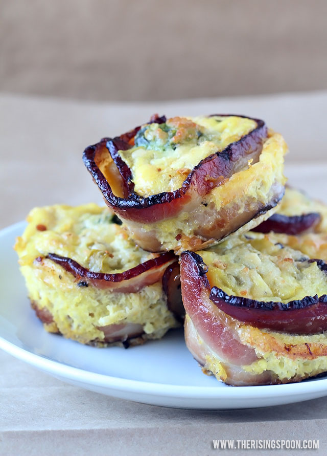 Tex-Mex Bacon & Egg Breakfast Muffins