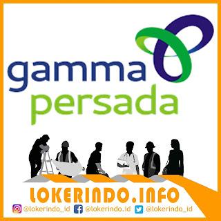Lowongan Kerja PT Gamma Persada Solusindo