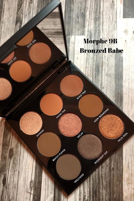 Morphe 9B Bronzed Babe Sephora Canada Purchase