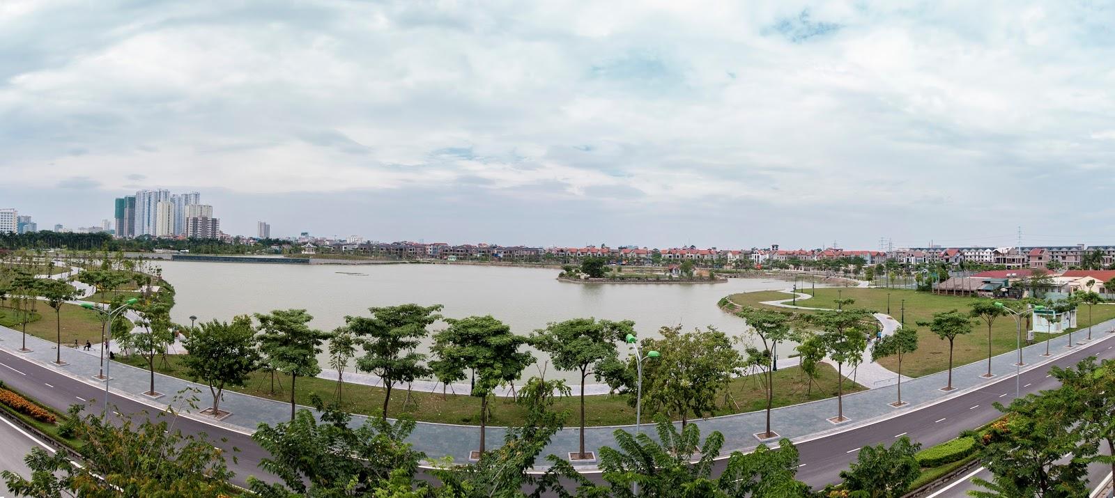 Công viên cây xanh tại chung cư An Bình City