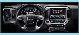 2017 GMC SIERRA 2500HD interior