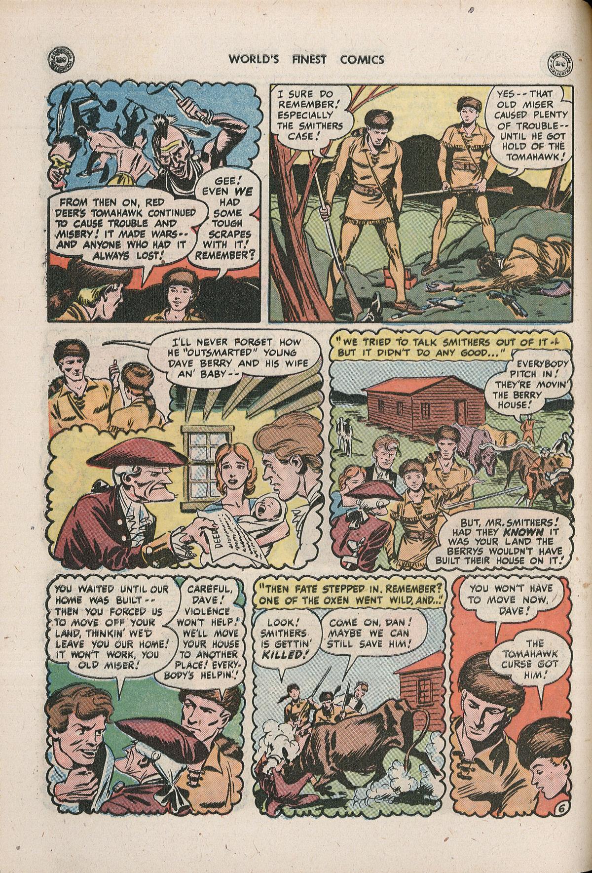 Read online World's Finest Comics comic -  Issue #33 - 42