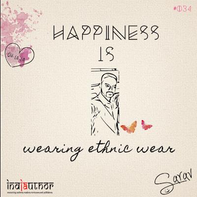 Happiness is wearing ethnic wear!
