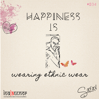 Happiness is wearing ethnic wear!
