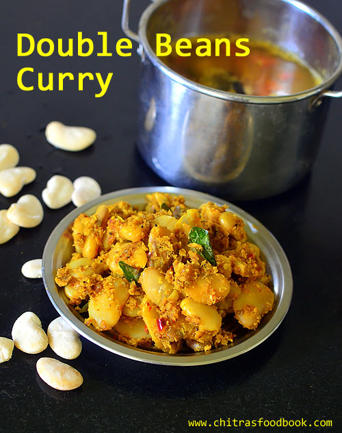 double beans poriyal