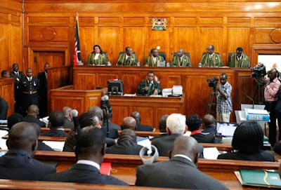 Kenya court in session (file photo)