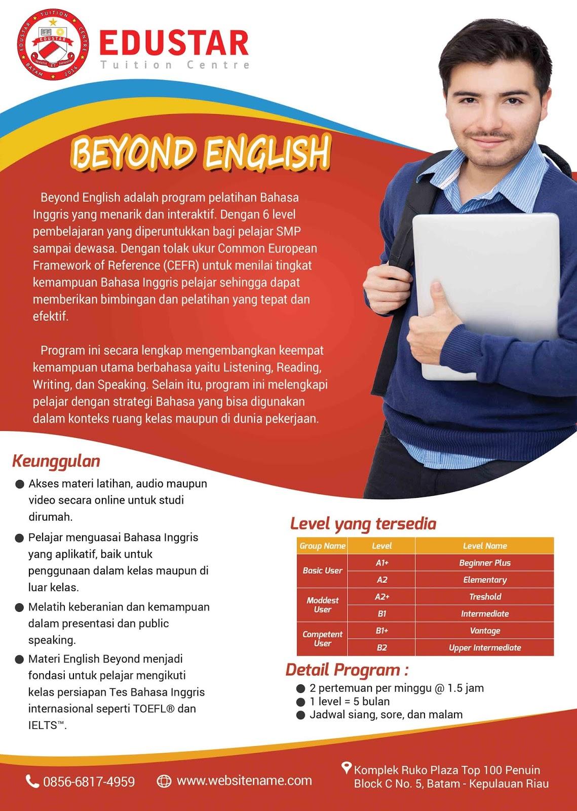 10 Inspirasi Brosur Keren Untuk Tempat Kursus Bahasa Inggris Edu Online Program