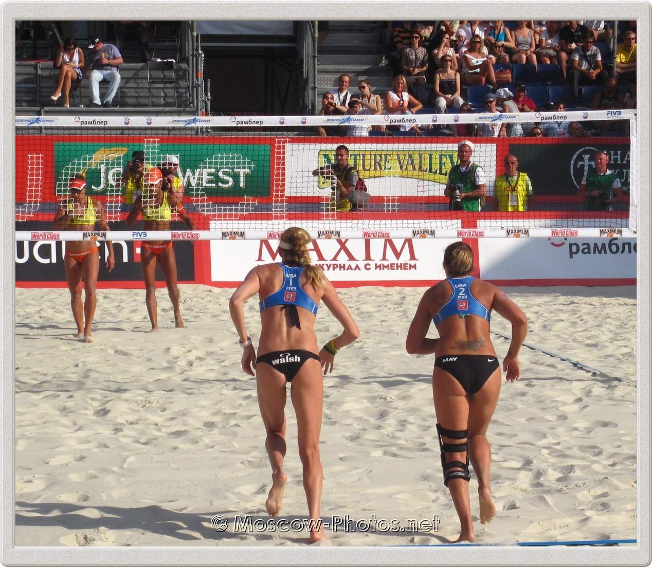 Kerri Walsh &  Misty May-Treanor:  Ready To Play!