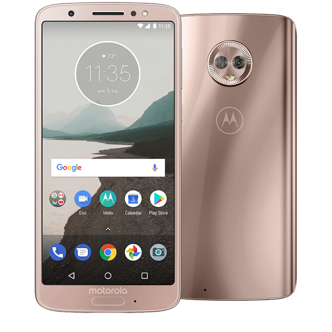 Motorola Moto G6 in blush now available on Google Project Fi