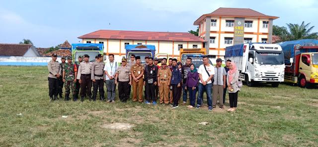 PPK Baradatu Lakukan Pendistribusian Logistik Pemilu Ke 147 TPS