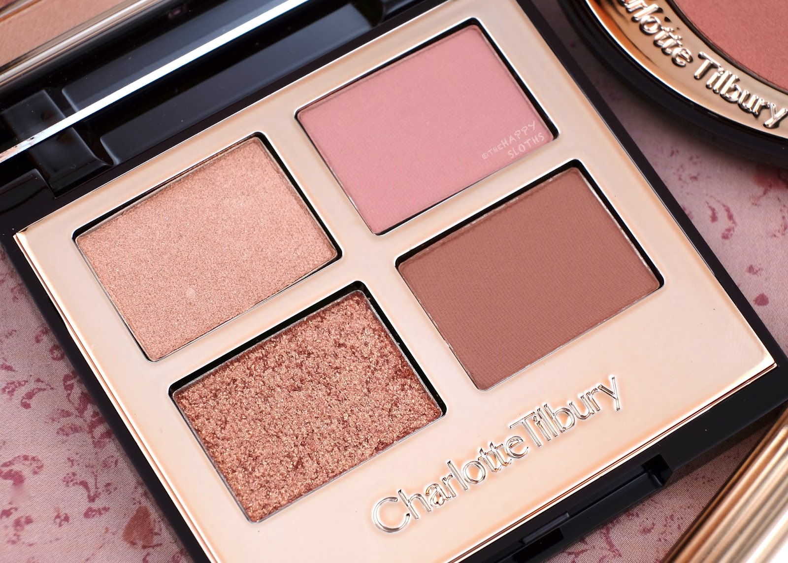 Charlotte Tilbury | Pillow Talk Luxury Eyeshadow Palette: Review and Swatches