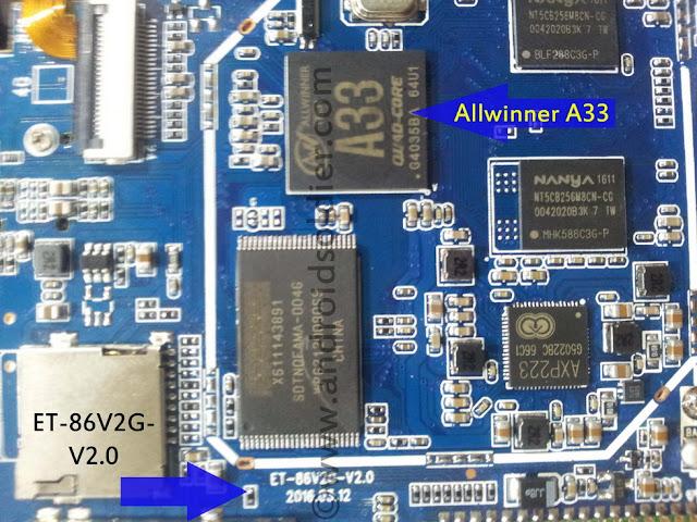 Allwinner A33 Firmware   ET- 86V2G -V1.8  ET- 86V2G -V1.8H  ET- 86V2G- V2.0