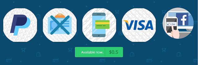 طريقة الحصول على بطاقة visa صالحة لتفعيل paypal و facebook ads  ب0.5 فقط !!!!!!