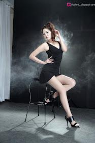 xxx nude girls: Wow - Lee Eun Hye in Black